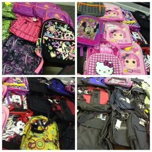 Book Bags and School Supplies - Ranger Good Works - supporting Dillard